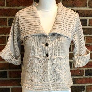 NWT Mango Casual Sportswear Chunky Knit Sweater